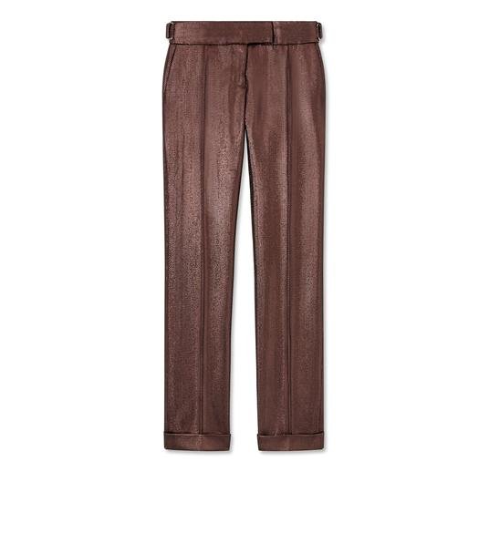 LUREX WOOL TAILORING PANTS