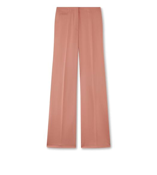 HEAVY TWILL TAILORED STRAIGHT LEG PANTS