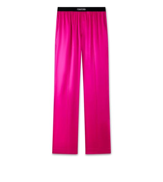 SILK SATIN PJ PANTS