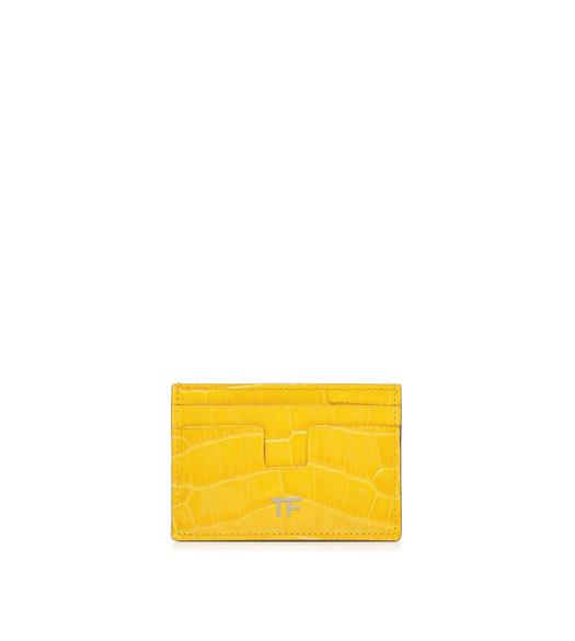 ALLIGATOR T CARD HOLDER