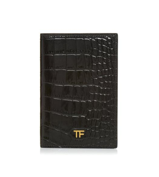 ALLIGATOR PASSPORT HOLDER