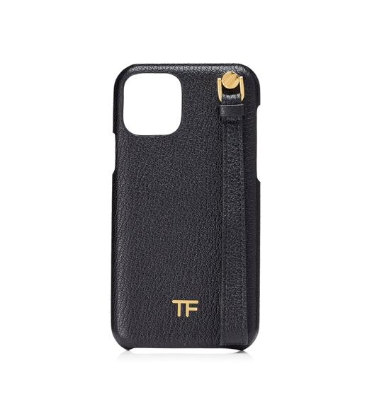 GRAINED LEATHER XI PRO IPHONE CASE