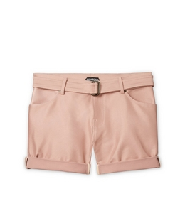 GABARDINE TAILORED SHORTS