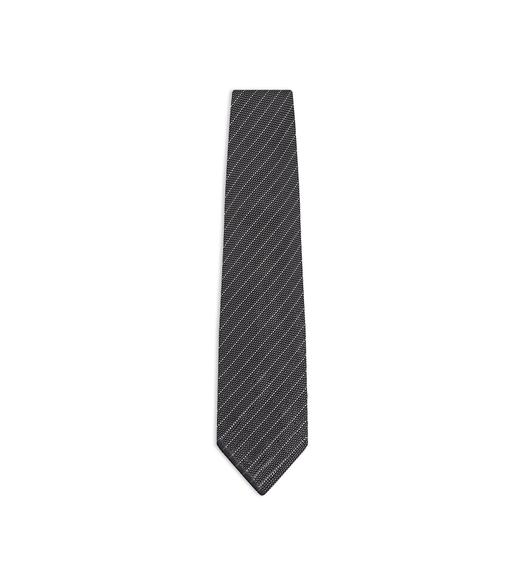 THIN STRIPE KNIT TIE