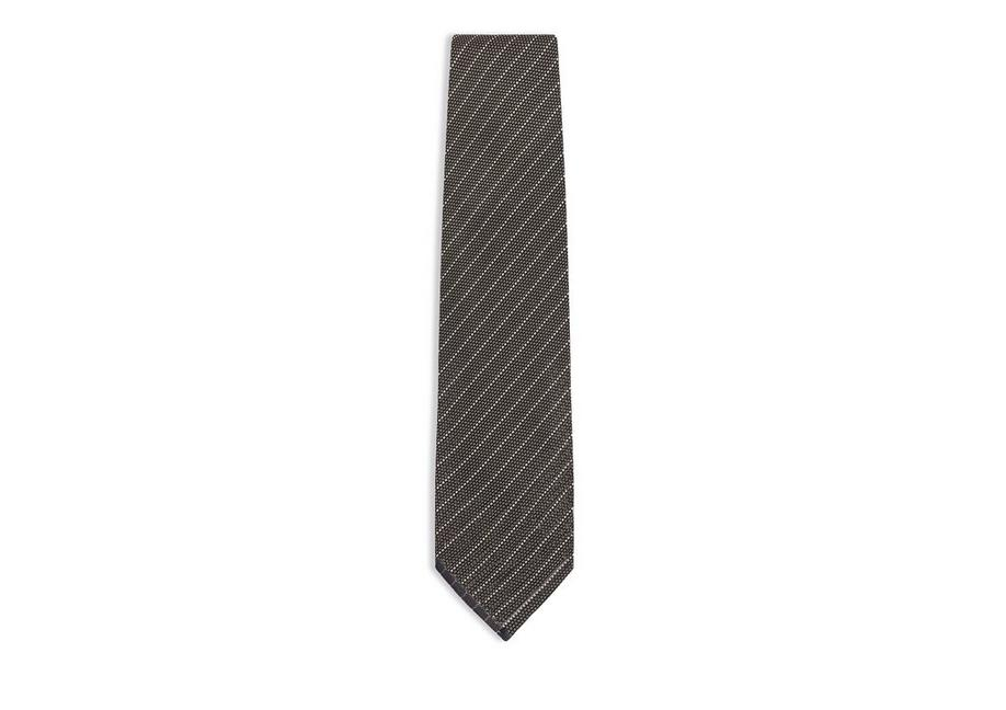 THIN STRIPE KNIT TIE A fullsize