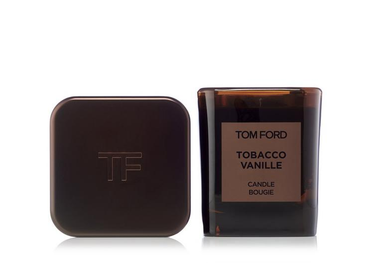 TOBACCO VANILLE CANDLE AND COVER SET A fullsize