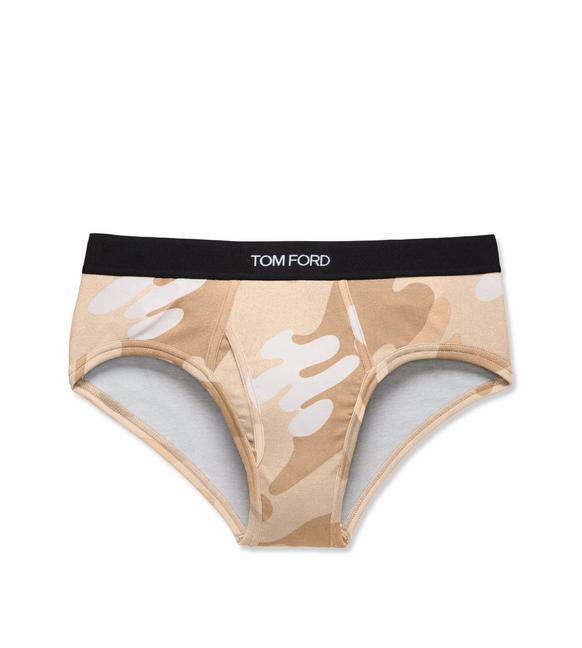 CAMOUFLAGE COTTON BRIEF A fullsize
