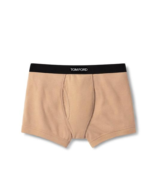 COTTON BOXER BRIEFS