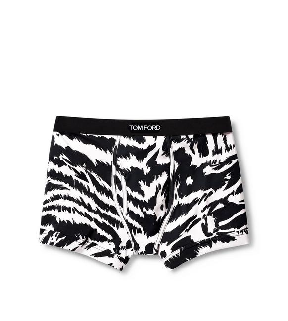 ZEBRA COTTON BOXER BRIEFS A fullsize