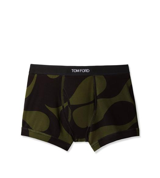 WAVE COTTON BOXER BRIEFS