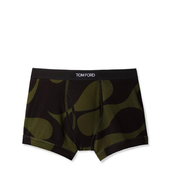 WAVE COTTON BOXER BRIEFS A fullsize