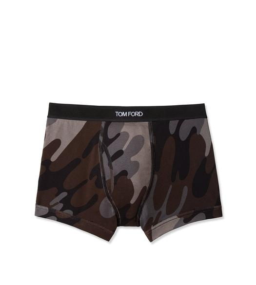 CAMOUFLAGE COTTON BOXER BRIEF