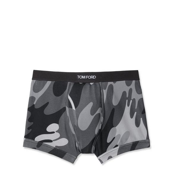 CAMOUFLAGE COTTON BOXER BRIEF A fullsize