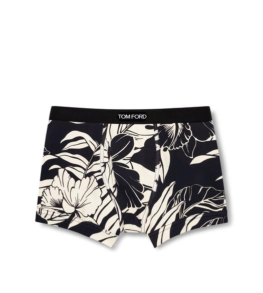 HIBISCUS COTTON BOXER BRIEFS