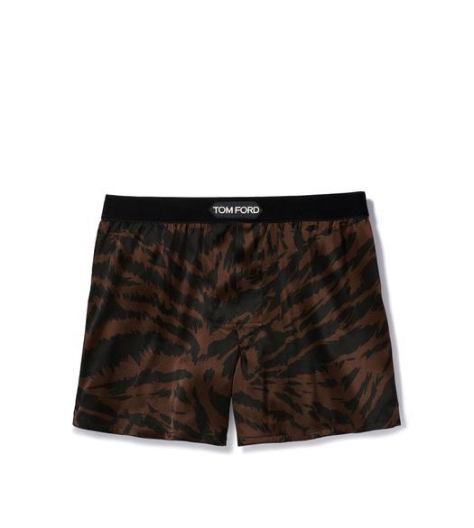 Best Mens Underwear 2020.Zebra Silk Boxers