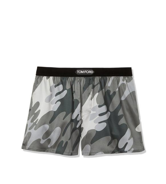 CAMOUFLAGE SILK BOXERS A fullsize