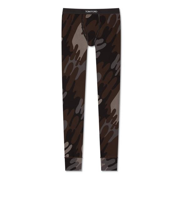 CAMOUFLAGE COTTON LONG JOHNS A fullsize
