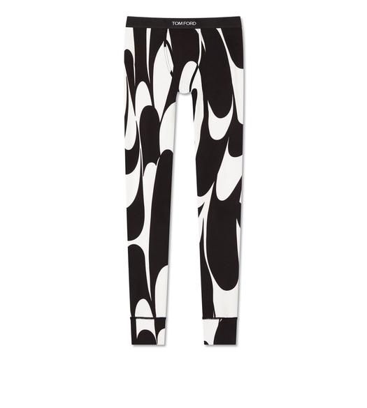 SWIRL COTTON LONG JOHNS