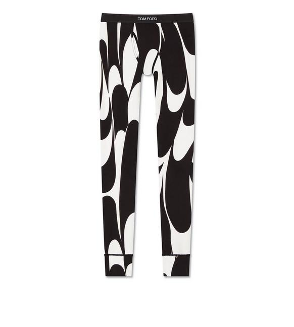 SWIRL COTTON LONG JOHNS A fullsize