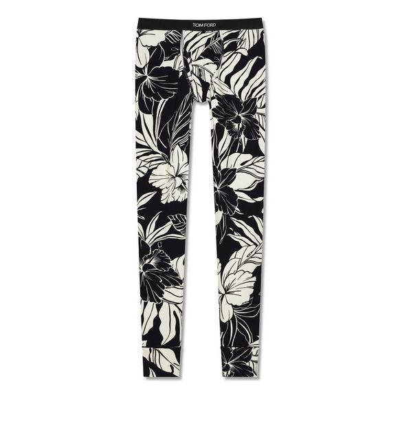 HIBISCUS COTTON LONG JOHNS A fullsize