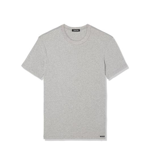 COTTON CREWNECK T-SHIRT