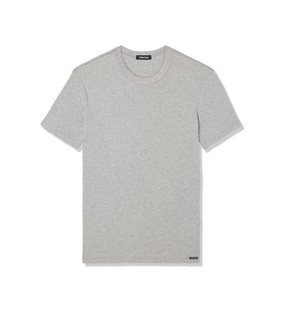 COTTON CREWNECK T-SHIRT A fullsize