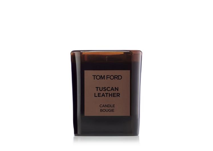 TUSCAN LEATHER CANDLE A fullsize