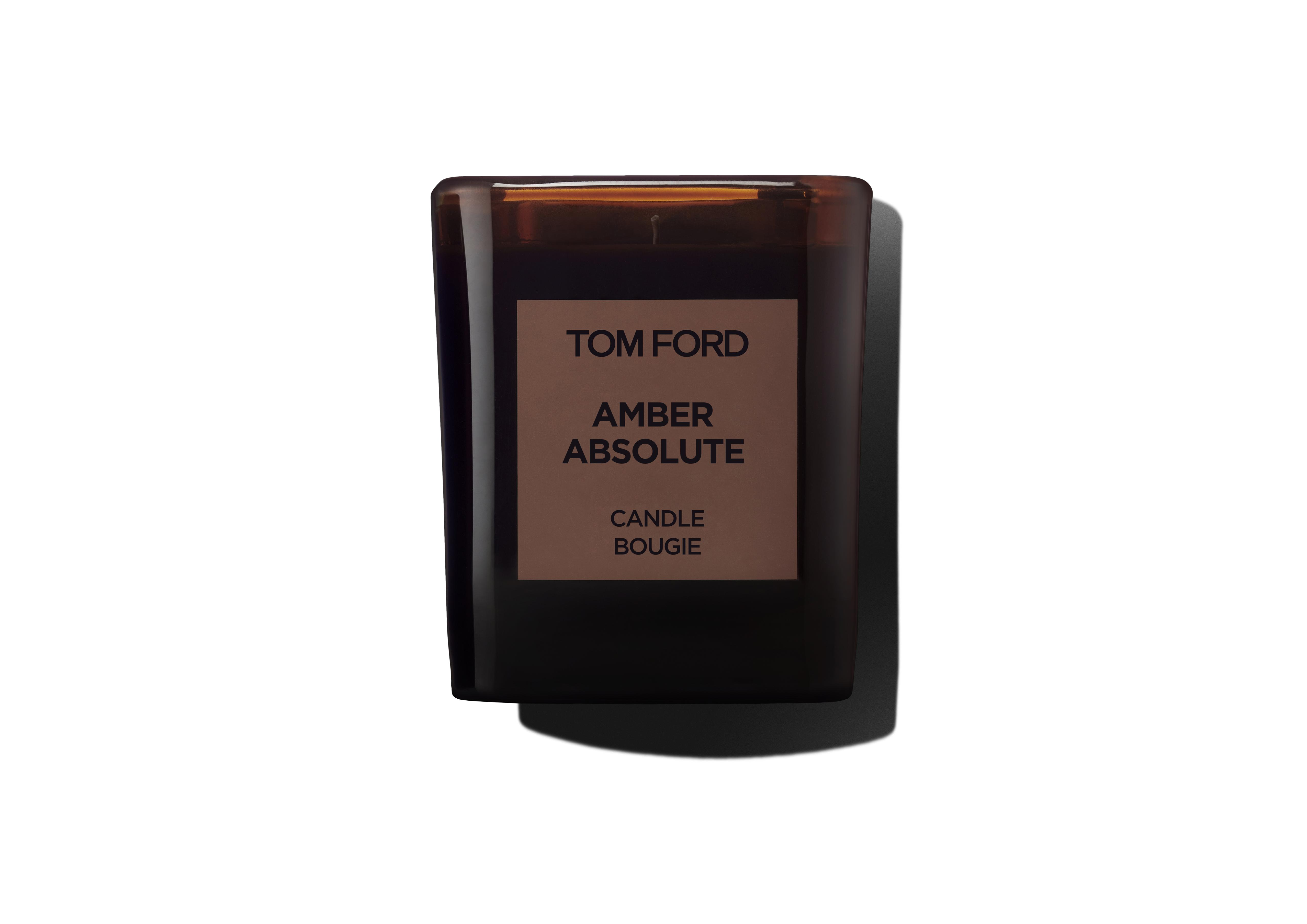 PRIVATE BLEND AMBER ABSOLUTE CANDLE A thumbnail
