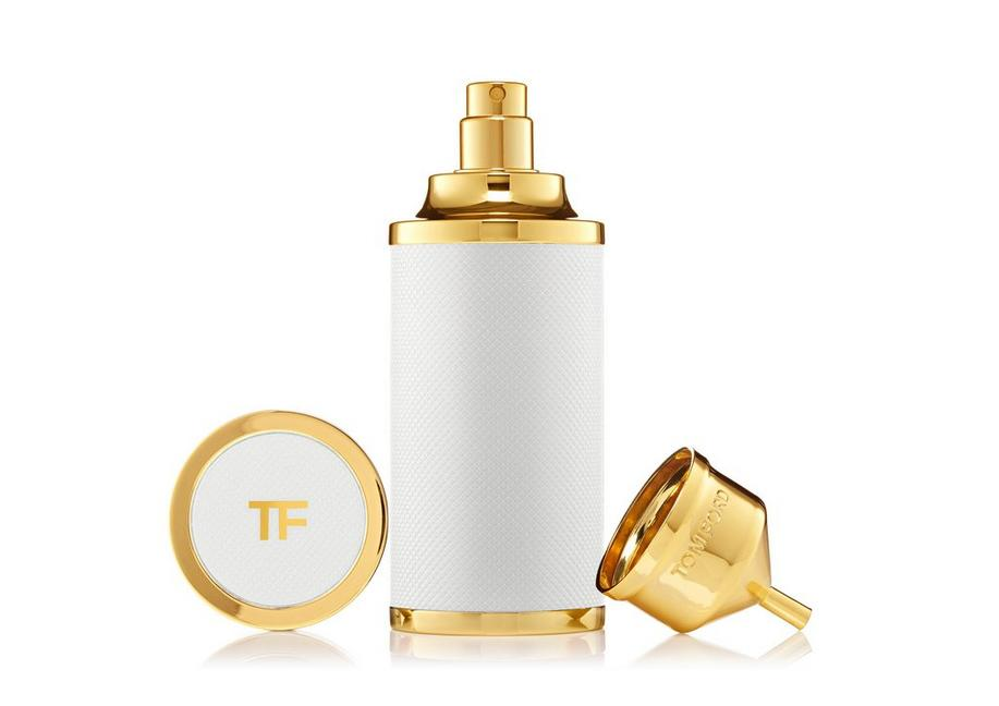 WHITE PRIVATE BLEND EMPTY ATOMIZER A fullsize