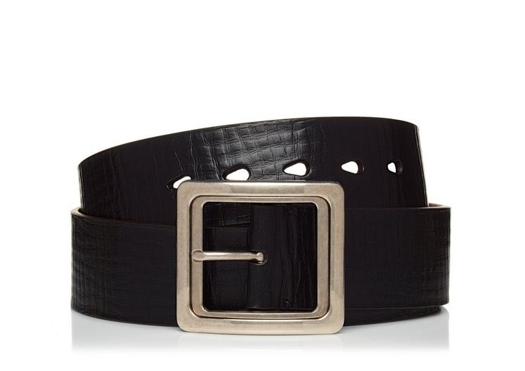 SQUARE BUCKLE BELT A fullsize