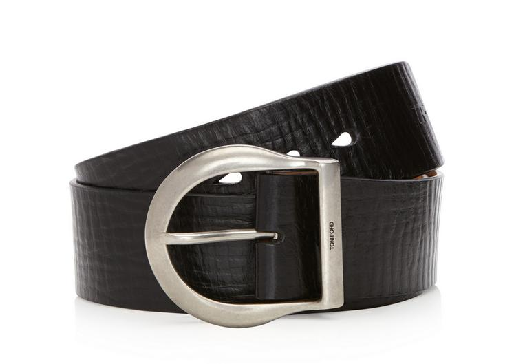 HORSE SHOE BUCKLE BELT A fullsize