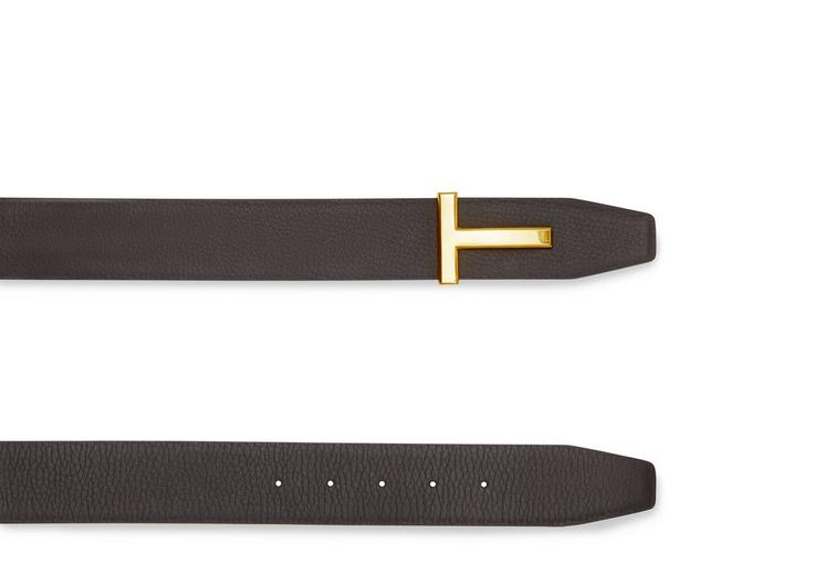 T BUCKLE REVERSIBLE BELT WITH GOLD BUCKLE B fullsize
