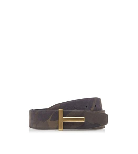CAMOUFLAGE T ICON BELT