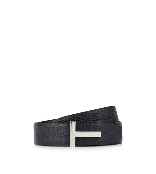 GRAINED ICON REVERSIBLE BELT