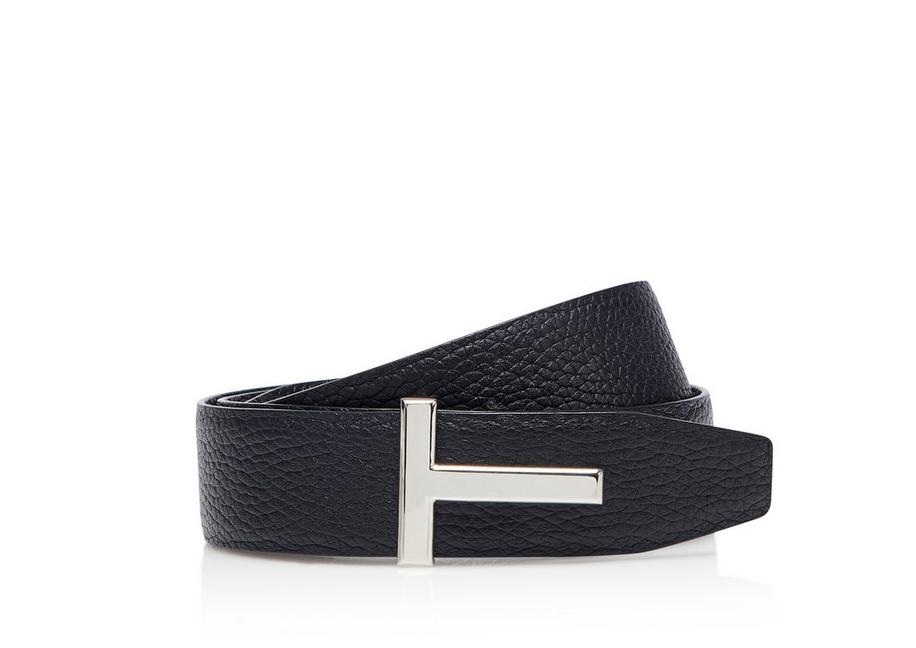 GRAINED ICON REVERSIBLE BELT A fullsize