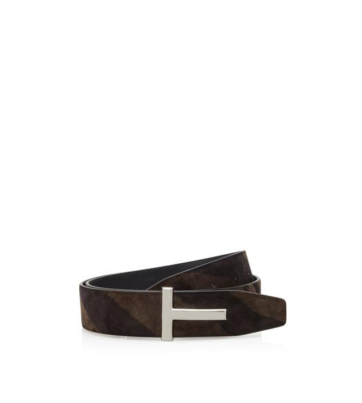 ZEBRA SUEDE T ICON BELT
