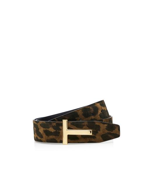 LEOPARD T ICON BELT