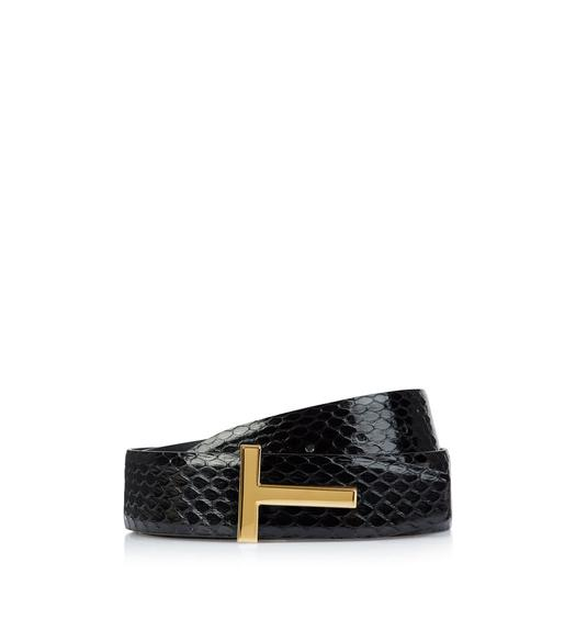 SNAKE ICON REVERSIBLE BELT