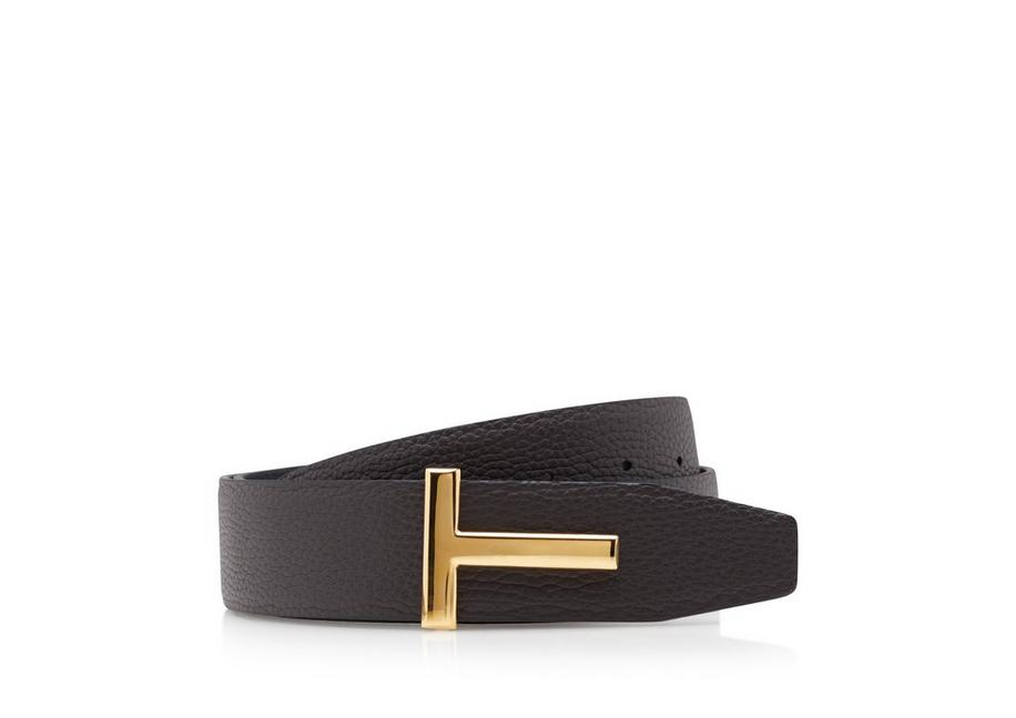 GRAIN LEATHER T ICON BELT A fullsize