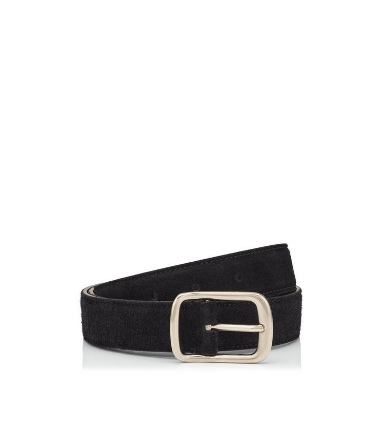 ROUNDED BUCKLE DRESS BELT A fullsize