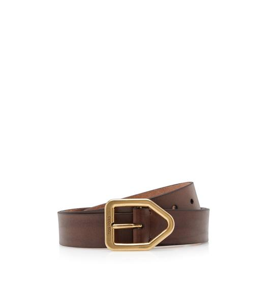 GOLD ELBAMATT BUCKLE BELT