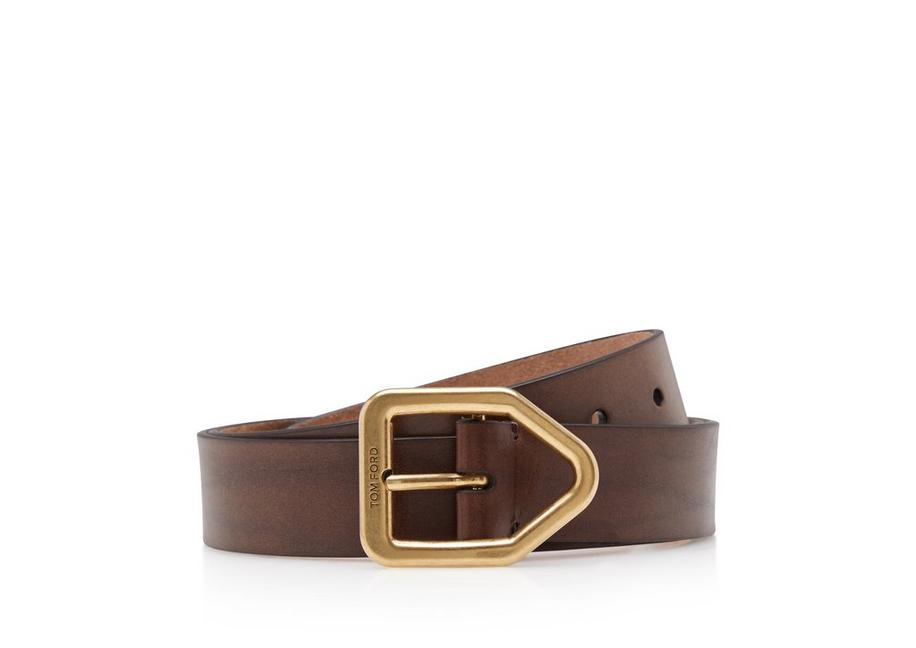 GOLD ELBAMATT BUCKLE BELT A fullsize