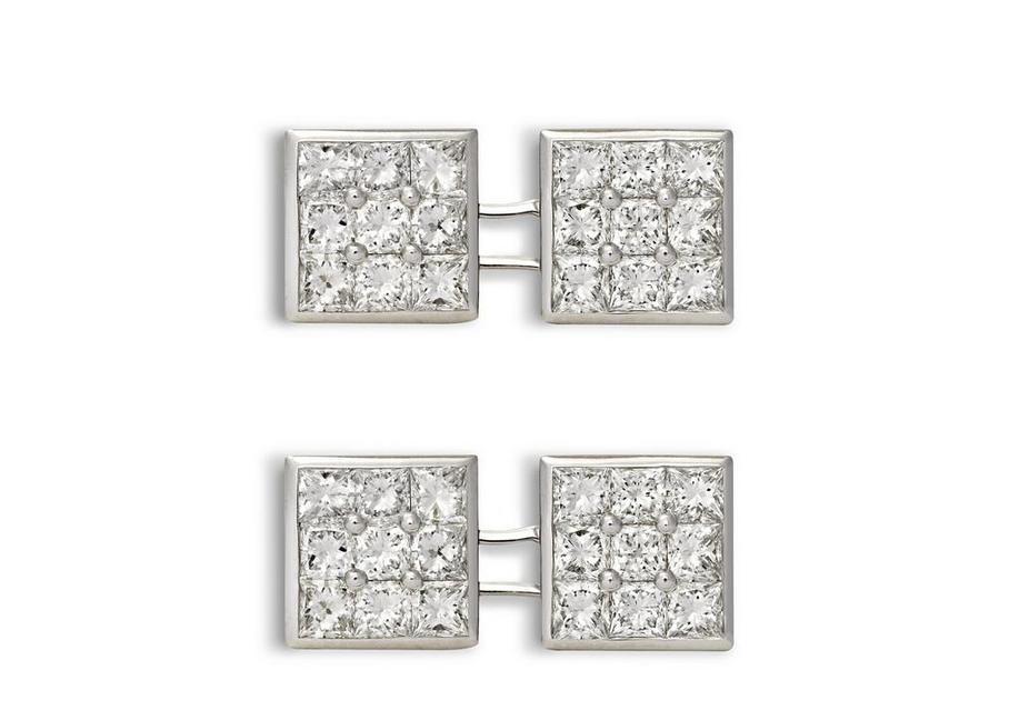 Diamond Square Cufflinks A fullsize