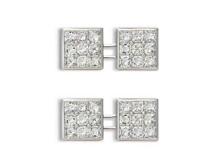 Diamond Square Cufflinks A fullsize