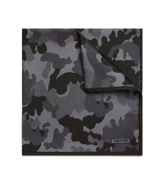 CAMOUFLAGE POCKET SQUARE