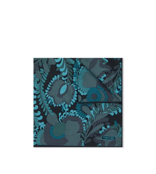 ABSTRACT ANIMAL PRINT POCKET SQUARE
