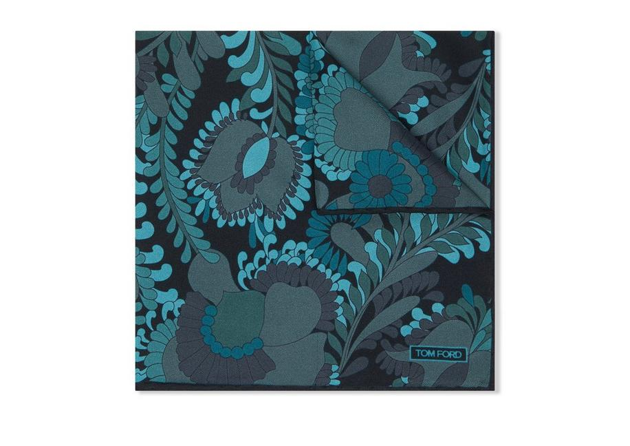 ABSTRACT ANIMAL PRINT POCKET SQUARE A fullsize