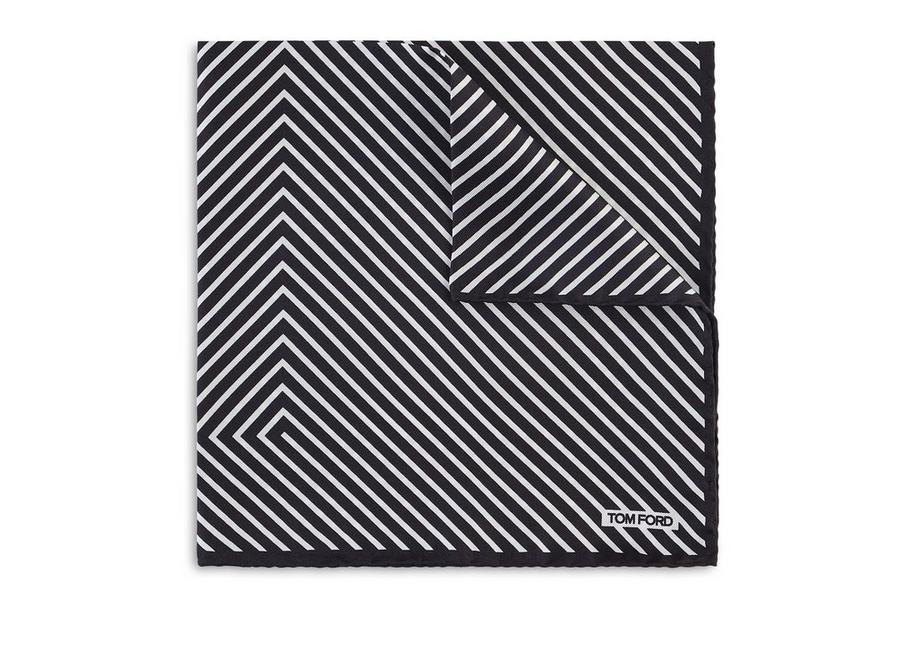 T STRIPE POCKET SQUARE A fullsize