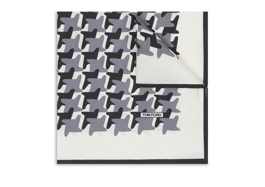 HOUNDSTOOTH POCKET SQUARE A fullsize