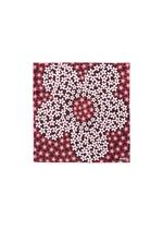 MULTI-FLORAL PRINT  SILK POCKET SQUARE B thumbnail